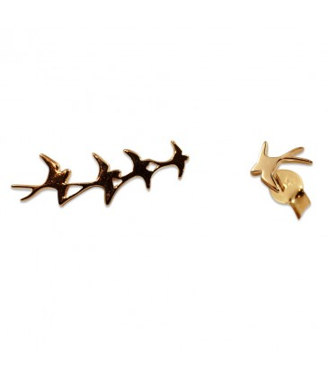 Flying Birds Earring