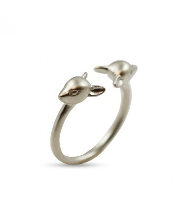 The little Fox head ring