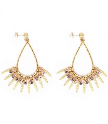 Cleopatra Chandelier Earrings