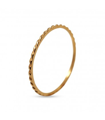 Tiny Ring with garland pattern