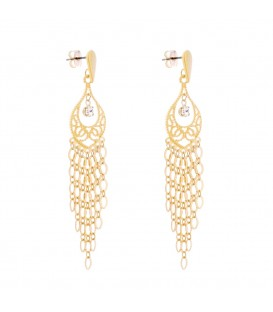 LONG ORIENTAL EARRING