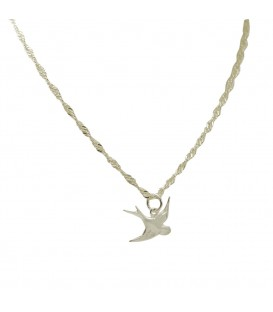 Swallow Chain Silver
