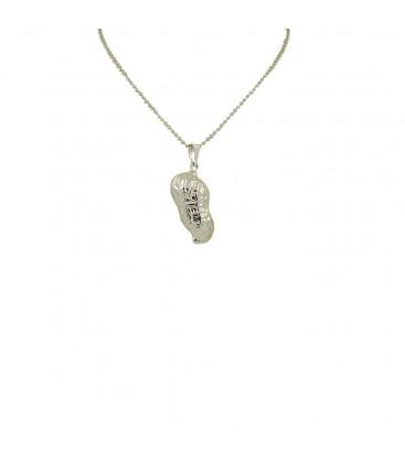 peanut chain silver
