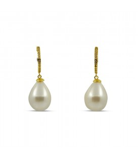 Eden earring pearly green