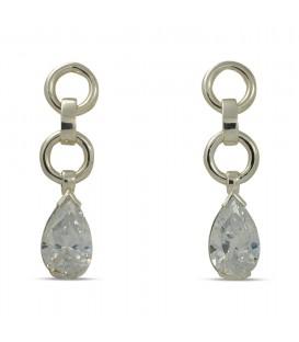 Angelina Earrings Silber