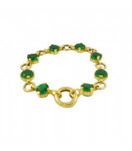 ESSENTIAL RINGS BRACELET YELLOW GOLD