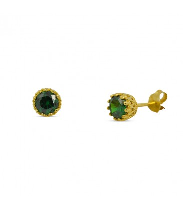 Solitaire Stud Yellow Gold