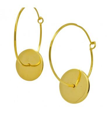 Creole Earring Gypsy Gold