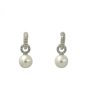 jingle balls earrings silver