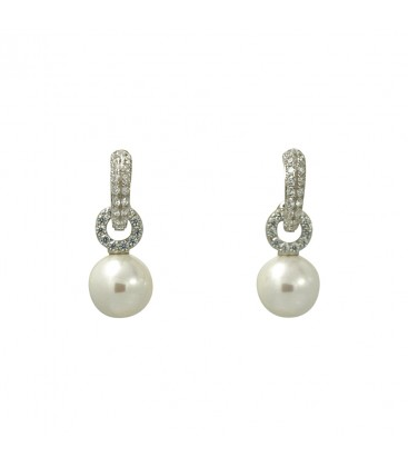 jingle balls earrings silver