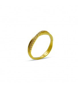 TWINE RING GOLD