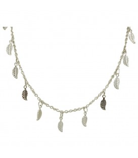 Long Leaf Chain Silber