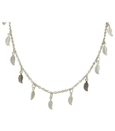 Long Leaf Chain Silver