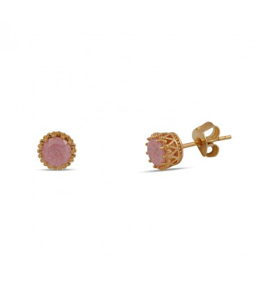 Solitaire Stud Rose Gold