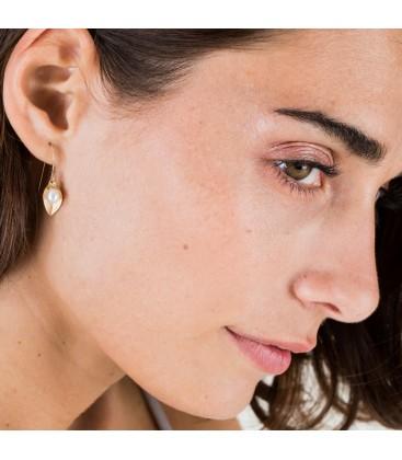 Helena Earring Black Pearl