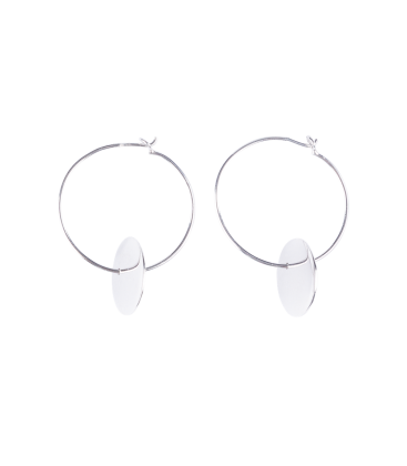 Creole Earring Gypsy Silver