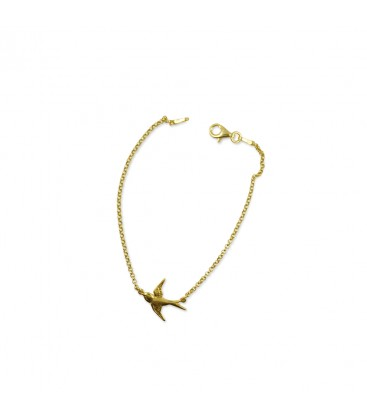 Armband Schwalbe Gold