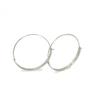 Earrings Alena Silver Big