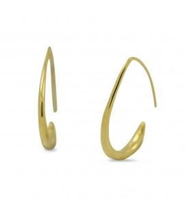 Hook Earrings Gold