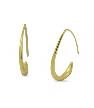 Hook Earrings Gold