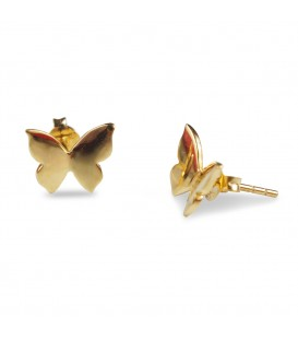 Butterfly Earrings Gold