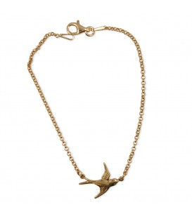 Swallow Chain Rose Gold