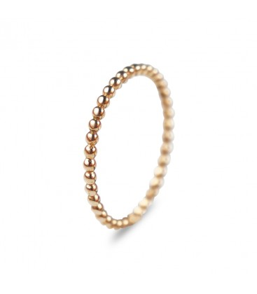 Simple Weddingring Venus 14k Rose Gold