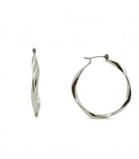 Hoop Earrings Twist