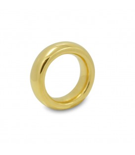 Classic Plain Yellow Gold Ring
