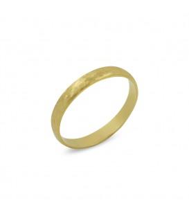Schneeflocke Ring Gold