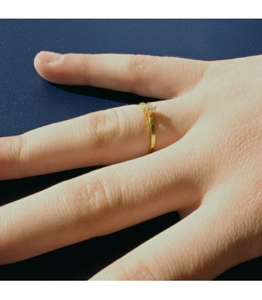 Engagement Ring Juno 18 Ct Yellow Gold