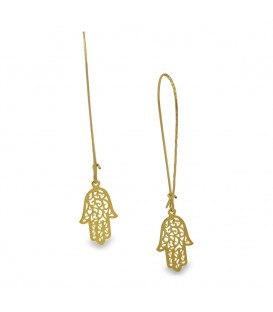 Fatima Hand Earring LONG