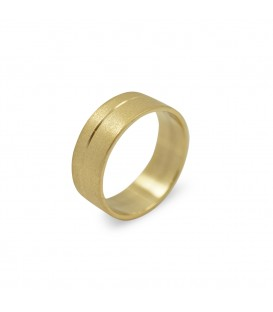 Dustin Ring Yellow Gold