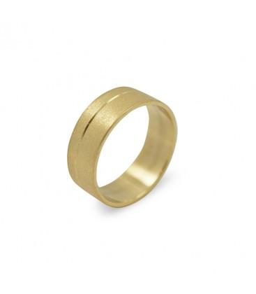 Dustin Ring Yellow Gold