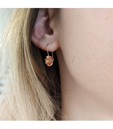 Little Princess Earrings Rose Gold