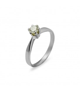Chiara Diamond Ring White Gold