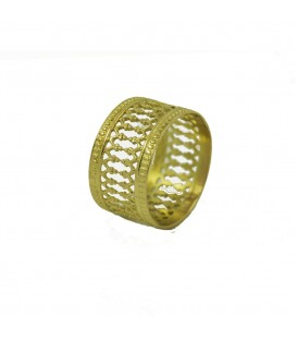 Gold velvet Ring