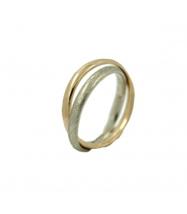 Ines Double Gold Ring