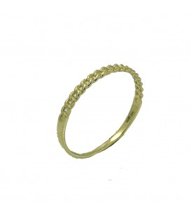Gold Kette Ring