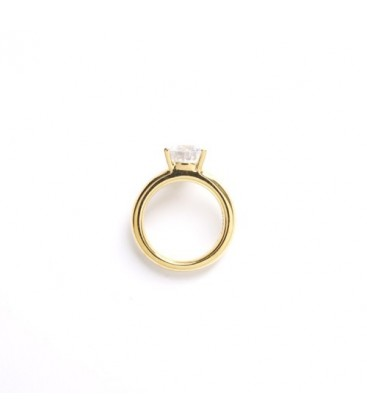Solitaire Ring Gold