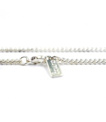 Matt silver Anchor Chain