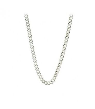 Matt silver Anchor Chain